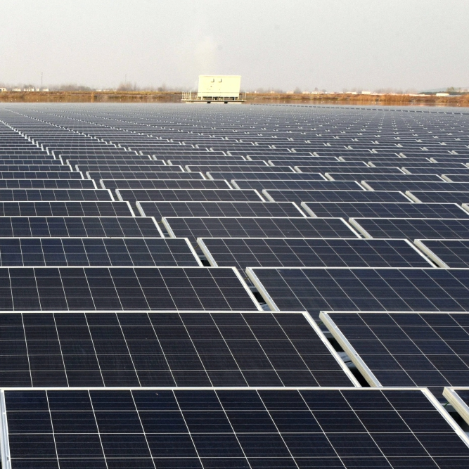 Pioneered 'Solar Park' Concept