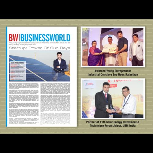 Young Entrepreneur Award..