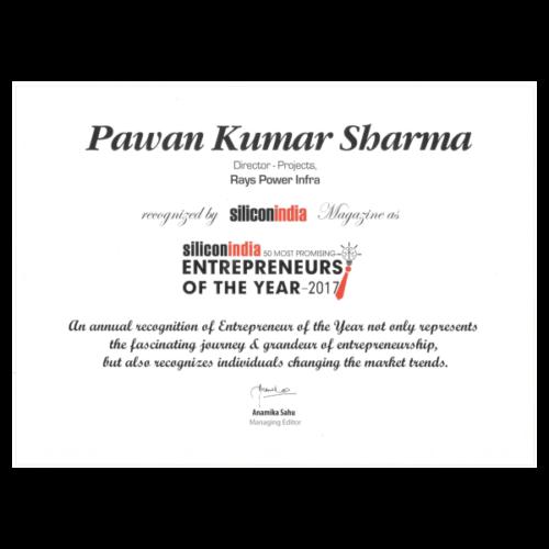 Young Entrepreneur Award.