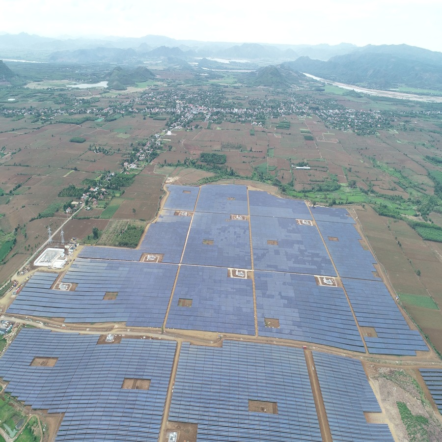 Successfully executed 50 MW solar plant at Vietnam